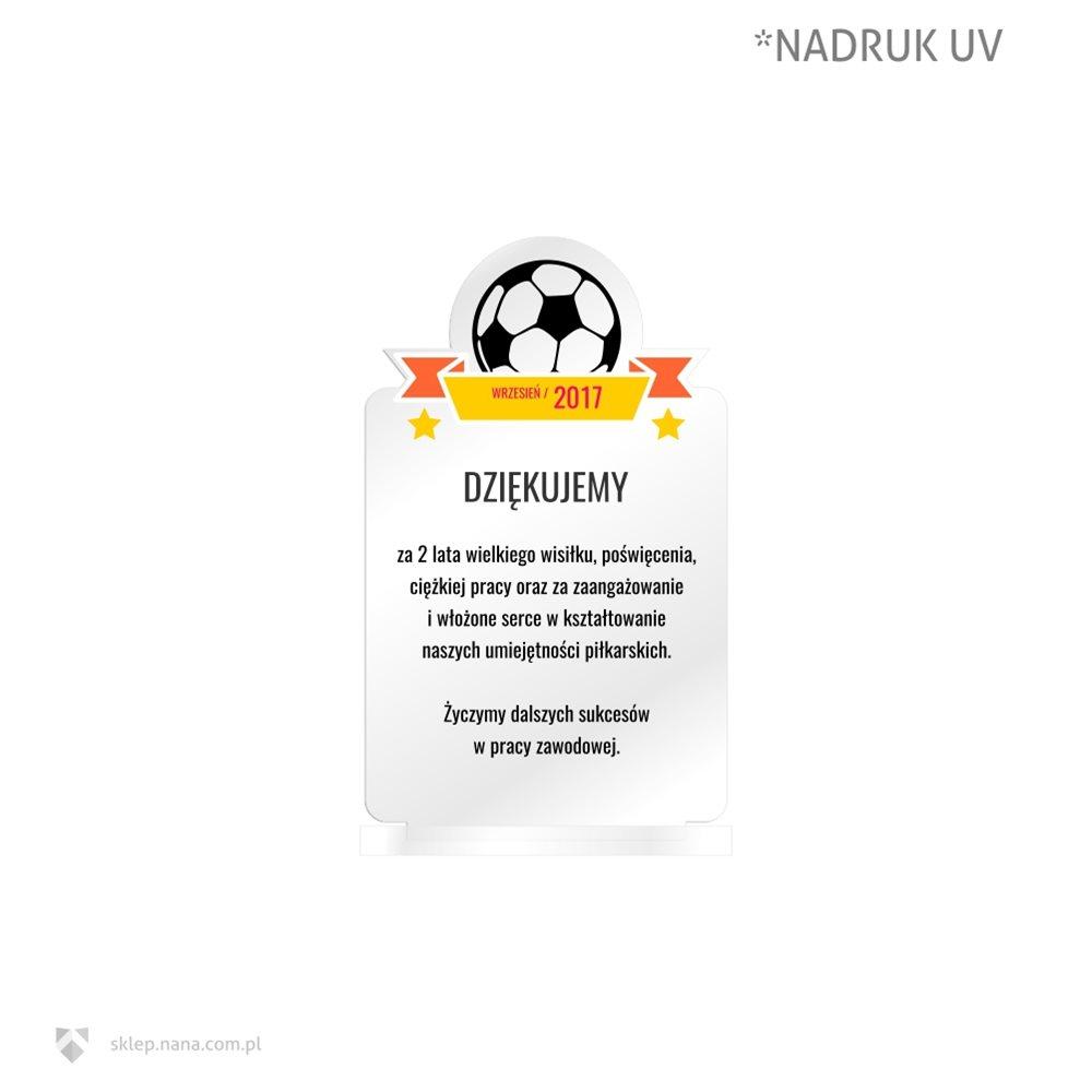Dyplom Podziękowania Piłka Nożna Sklep Online Nana Kraków