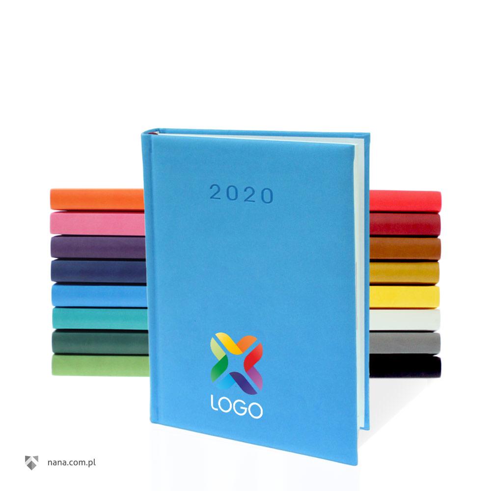 78a1389bc Kalendarz VIVELLA A5 dzienny z kolorowym nadrukiem UV 2020 :: NANA ...