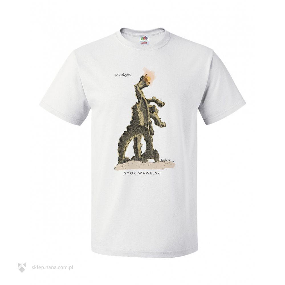 93c1021c8 Męski t-shirt ze Smokiem Wawelskim :: NANA Produkty Personalizowane