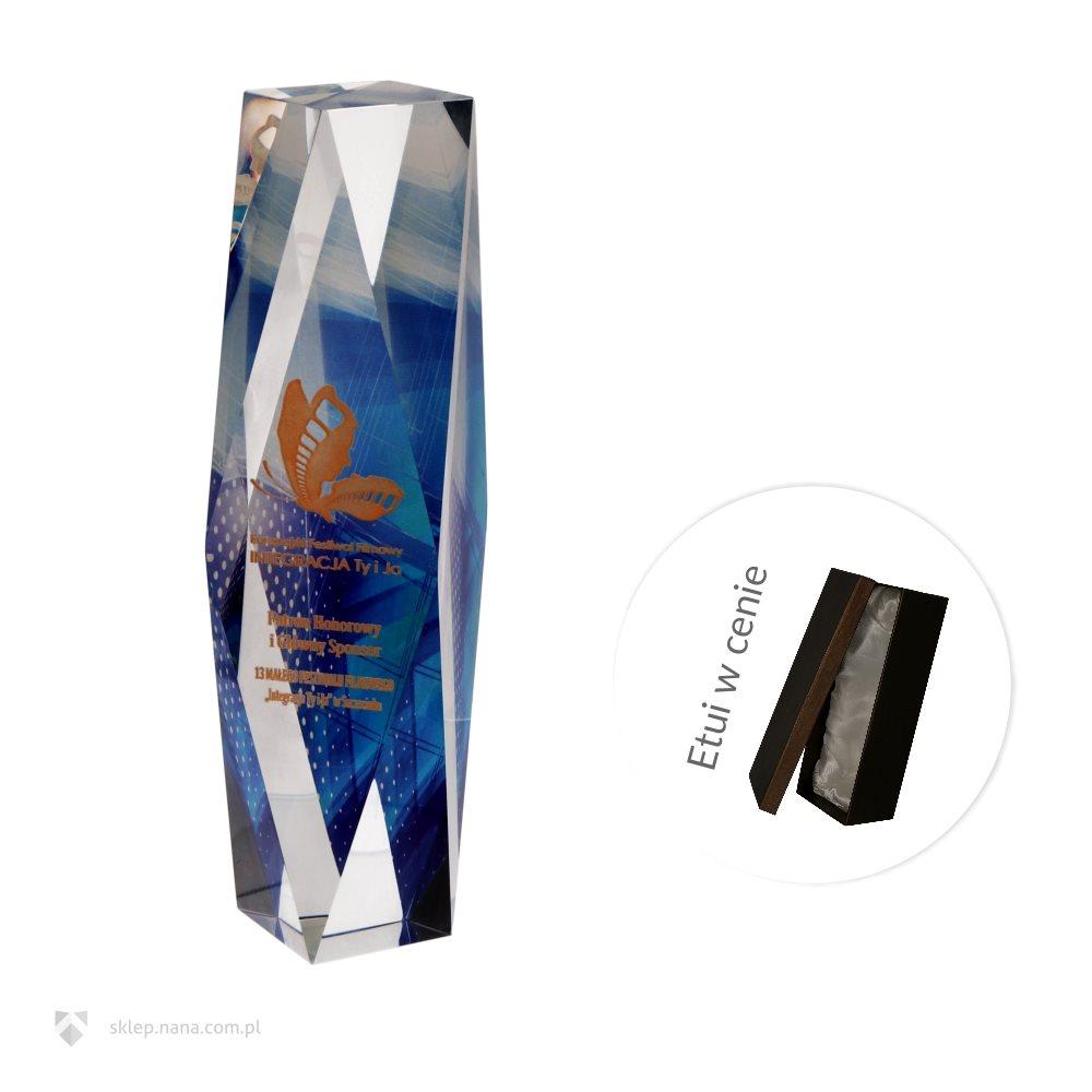 41687b8ee3a55a Trofeum szklane C052-26 :: NANA Produkty Personalizowane