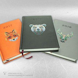 kalendarze książkowe, dzienne, tygodniowe, biurkowe, wiszące, ścienne, trójdzielne